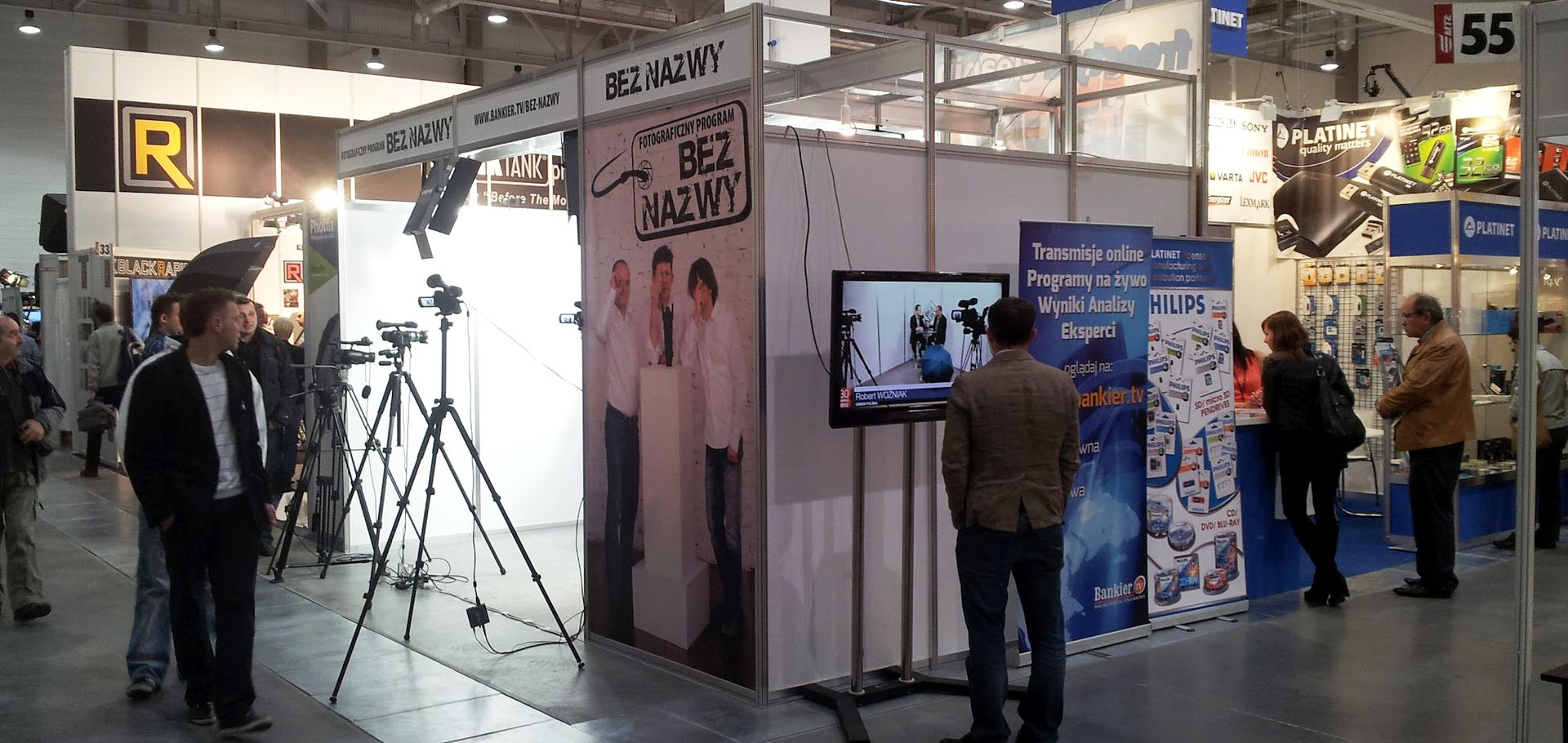 Photo Trade Show Lodz. Live streaming studio manager and program host (2012)